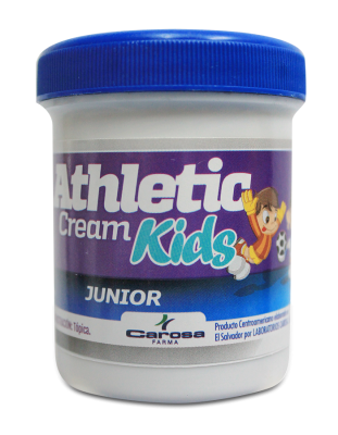 Athletic cream Kids - tarro x 4 oz